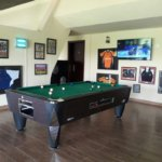 SAM Coin operated pool tables