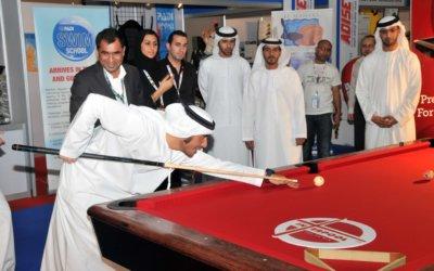 HH Shk. Naseer Bin Zayad Al Nahyan at interpool