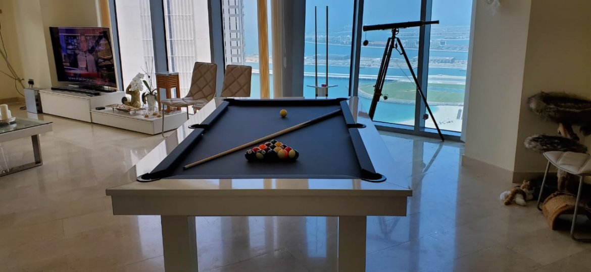 Lafite White Pool Table - Interpool Billiards
