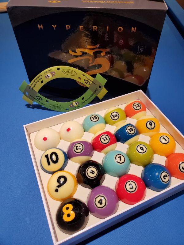 Cyclop Hyperion Pool Balls - Buy Pool Table, Foosball ...